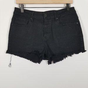 Bullhead High Rise Distressed Jean Shorts Size 11
